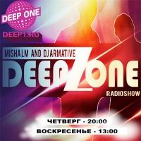 MISHA LM AND DJ ARMATIVE-DEEPAZONE RADIOSHOW #24 (19.05.2016)